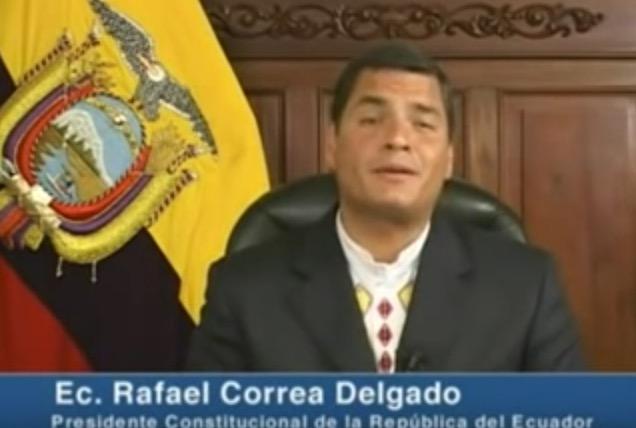 Software Libre: el apoyo del presidente Ecuatoriano