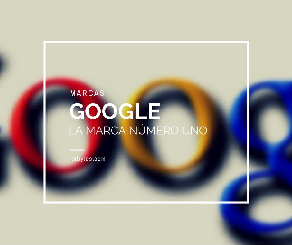 Google la marca número uno del mundo