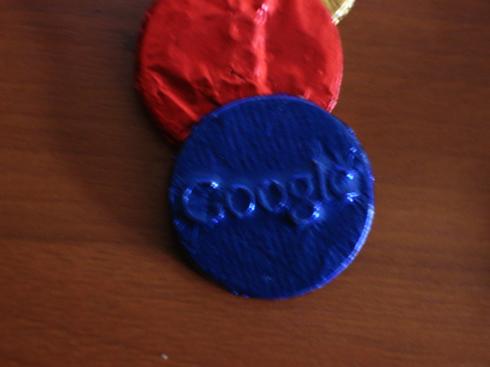 Logo Chocolate Google