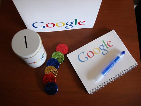 Chocolates de Google y Alcancia