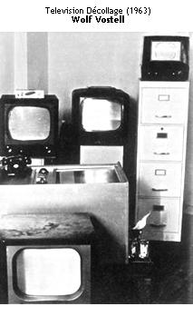 Television Décollage - Wolf Vostell