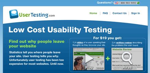 Test de usabilidad