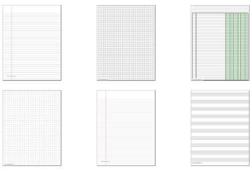 Papeles para imprimir gratis