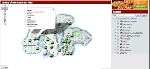 Mapas del GTA 4