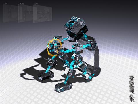 robot de agua
