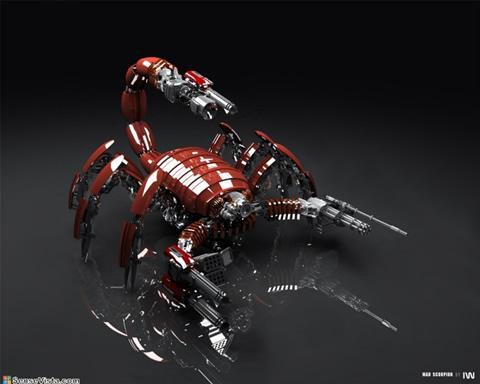 robot escorpion