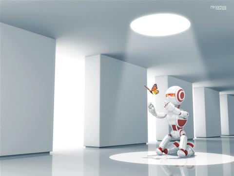 robot mariposa