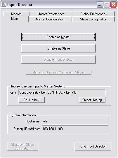 compartir teclado mouse