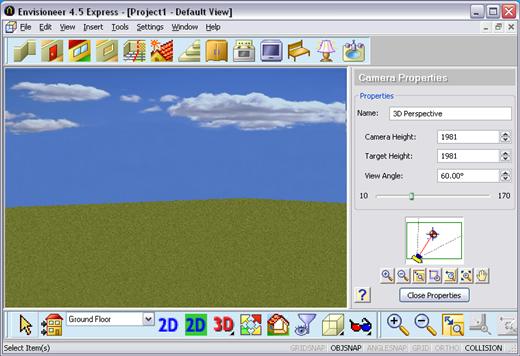 Dise o de casas en 3d kabytes for Programa para dibujar en 3d