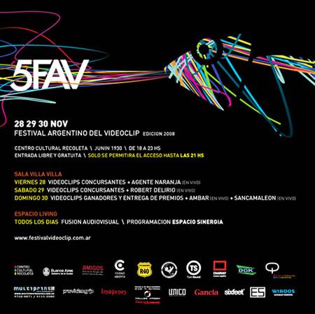 quinto festival del videoclip