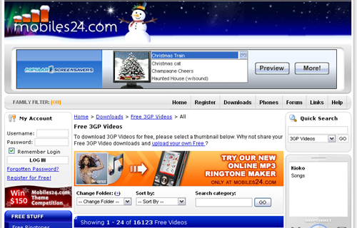 mobile24 download 3gp