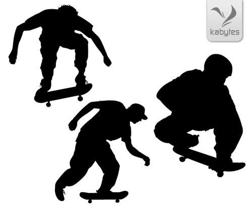 Siluetas Gratis de skaters - Noticias Online - Entretenimiento Belleza ...