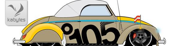 Automóviles vectorizados