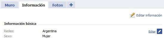 Configuraciones de privacidad en Facebook