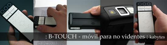B-Touch: mòbil per a no vidents