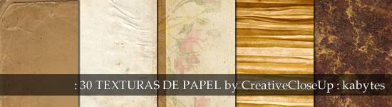 Texturas de papel