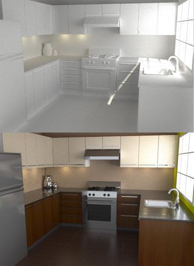 Diseñar una cocina en 3D
