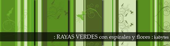 Texturas verdes