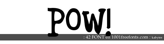 Tipografías de historietas