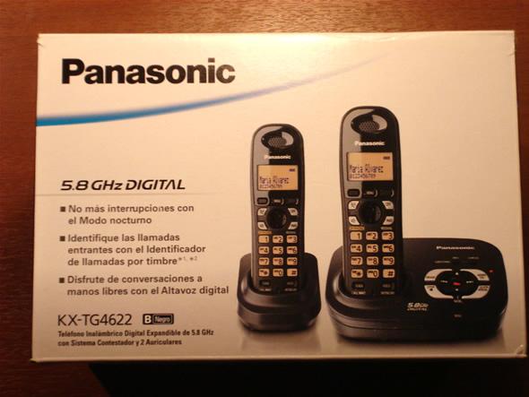 Caja del Panasonic KT-TG4622