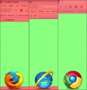Firefox - IE - Chrome
