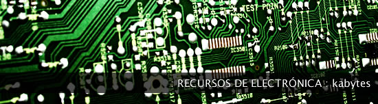 Recursos para electrónica