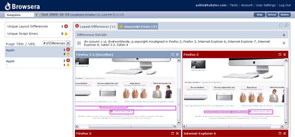 buscar diferencias navegadores