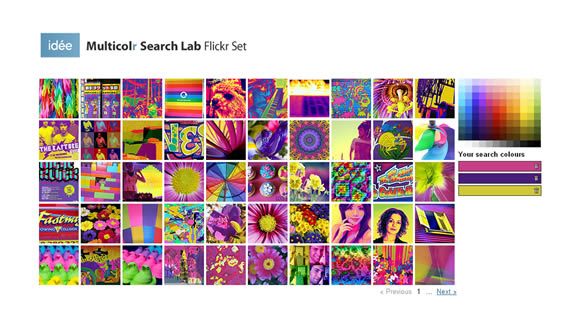 Multicolr Search Lab