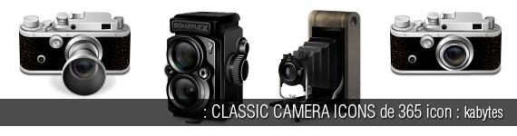 Iconos sobre fotografia