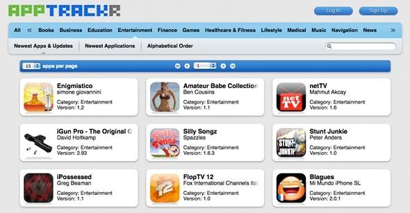 buscador aplicaciones iphone ipod