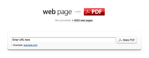 convertir html pdf