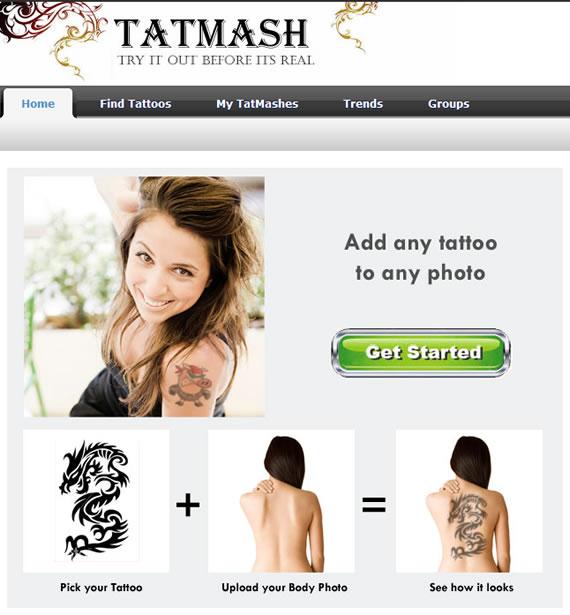 tatuajes para cuerpo. Para probar estos tatuajes antes de hacerlos y elegir el modelo que mas se