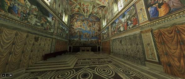 capilla sixtina 3D
