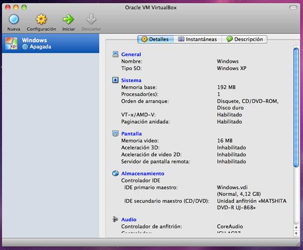 correr windows mac osx