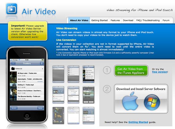 streaming iphone ipod