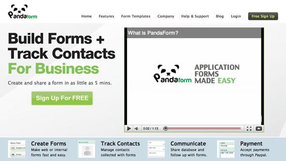 creacion formularios contactos