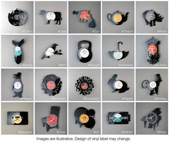 Relojes de vinilo kabytes - Relojes de vinilo ...