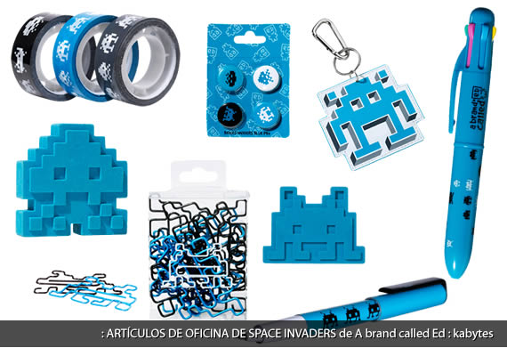 Art culos de oficina de space invaders kabytes for Articulos de oficina
