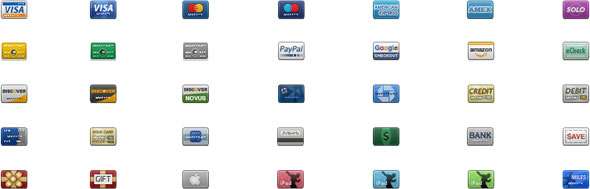 iconos tarjetas credito