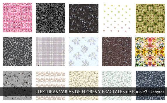 Flores y fractales