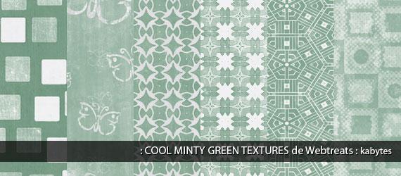 Texturas varias en verde claro