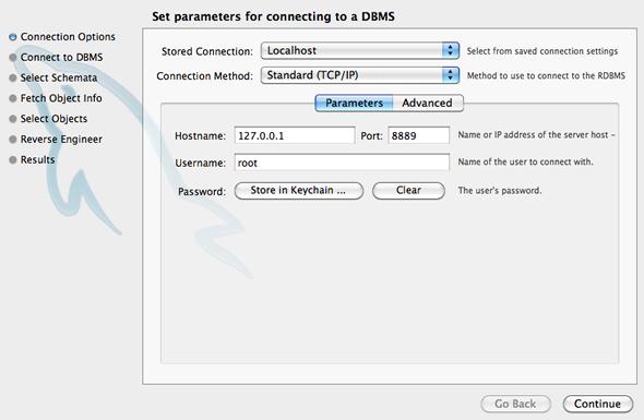 configurar base datos mysql