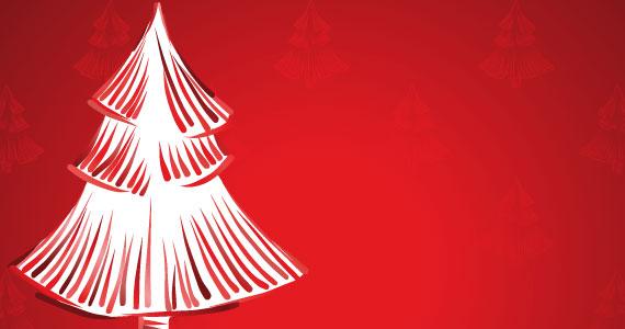 Descargar Tarjetas con árboles de navidad | Vectorizados