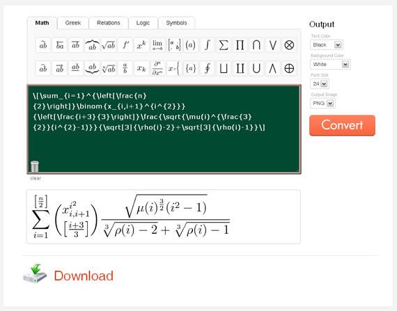 Aplicaciones online: matemáticas