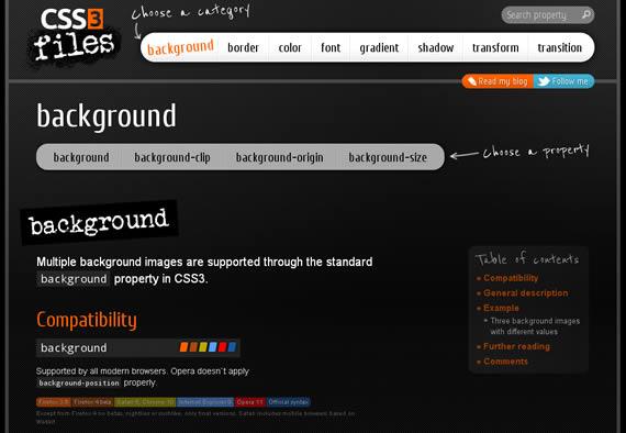 Buscadores, CSS3