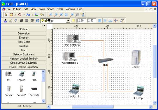 diagrama redes programa