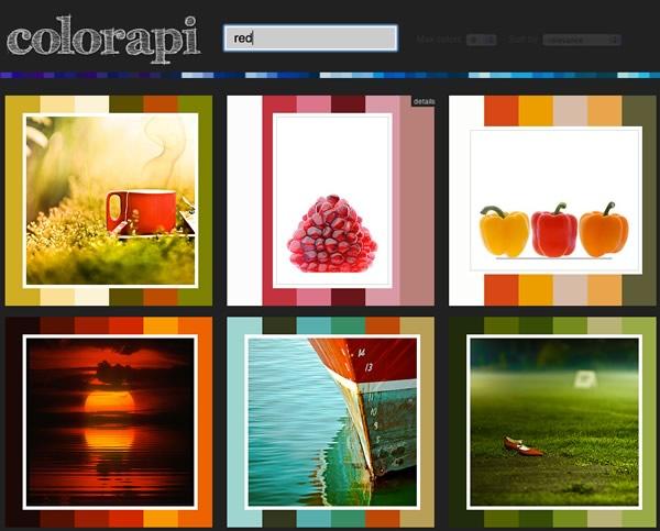 extraer imagen paleta colores