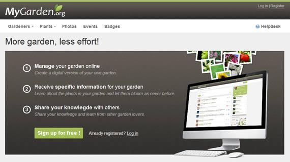 Red social para amantes de las plantas