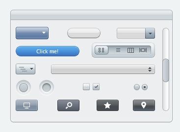 UI Apple PSD