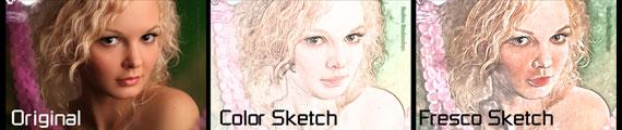 Acción Photoshop: Efecto dibujo